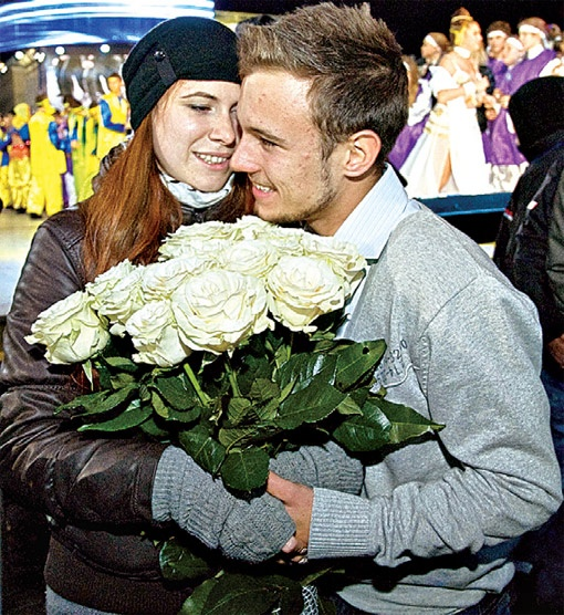 Богдан и Лиля познакомились во время совместной работы над шоу.
