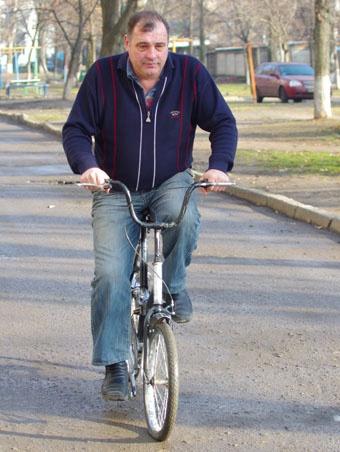 Модель необычного велосипеда приснилась одесситу во сне 12706353