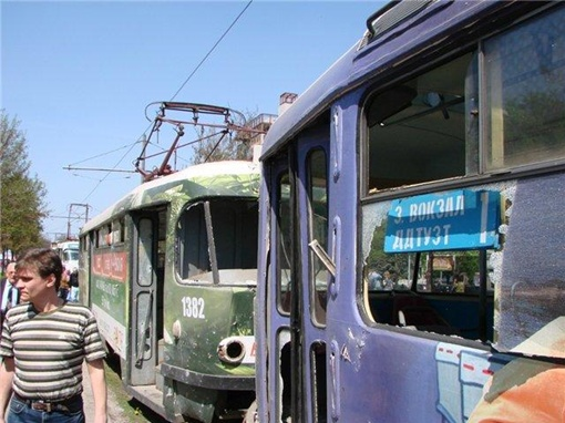Место трагедии. Фото: Master_Tyre, gorod.dp.ua