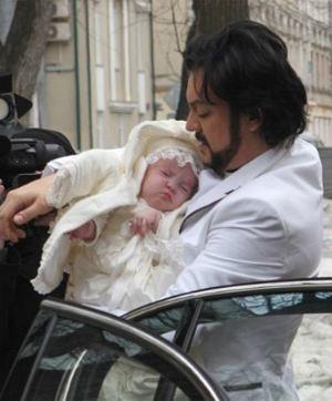 Филипп киркоров стал отцом во второй