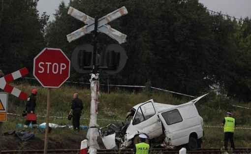 Авария произошла сегодня утром. Фото: wyborcza.pl