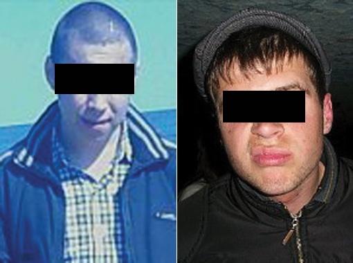 Эти двое, говорят очевидцы, были в числе 14 молодчиков, устроивших экзекуцию. Фото с