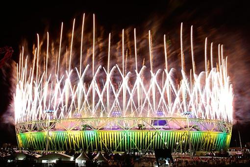 Закрытие Олимпиады 2012 видео
