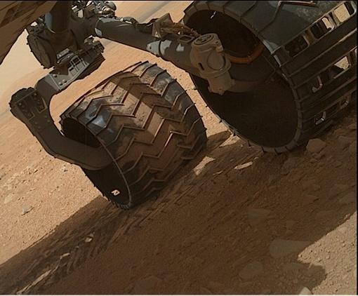 Американский марсоход Curiosity пытается ответить на вопрос, есть ли жизнь на Марсе