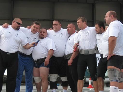Рекордсмены в сборе. Фото автора