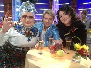 Верка Сердючка и Басков - друзья навек. Фото с личной странички артиста.
