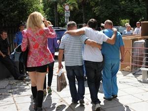 """У Козловского """"прихватило"""" спину, его вывели из концертного зала под руки."""